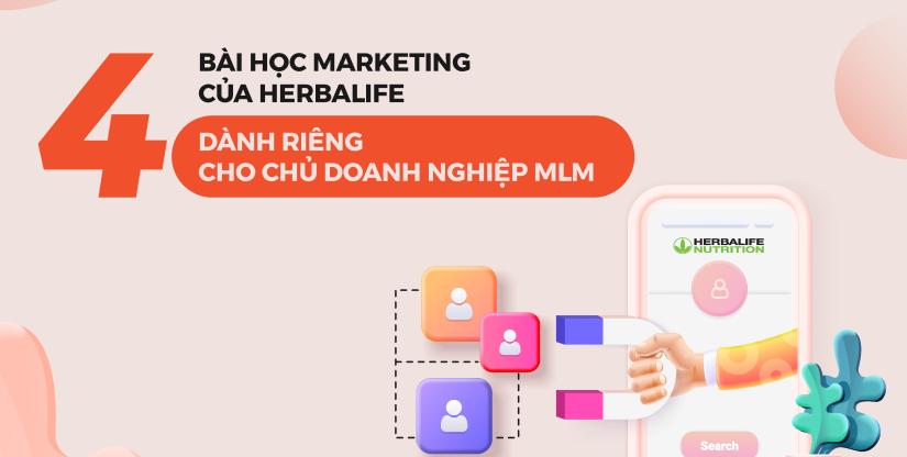 4 bài học Marketing từ Herbalife dành riêng cho chủ doanh nghiệp MLM