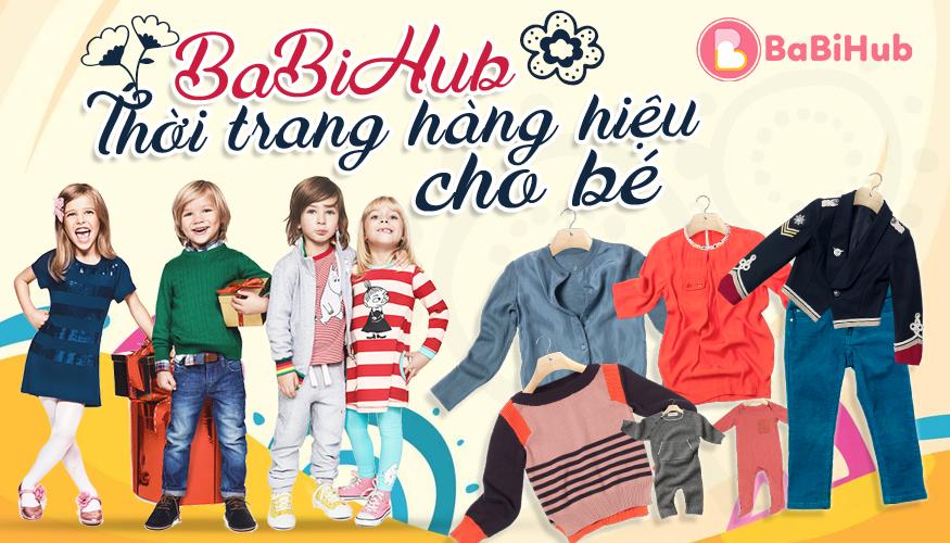 BaBiHub - Thời trang hàng hiệu cho bé