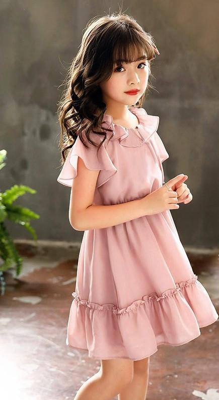Mix đồ cho bé gái theo phong cách tiểu thư, công chúa với đầm