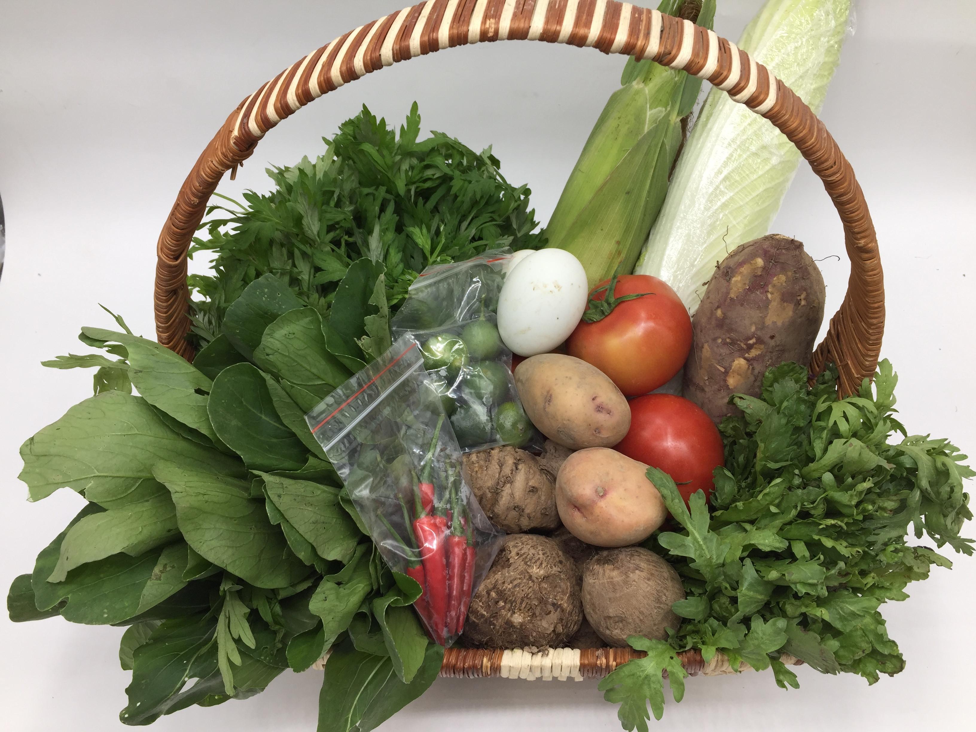 Combo rau củ quả 3 ngày ăn