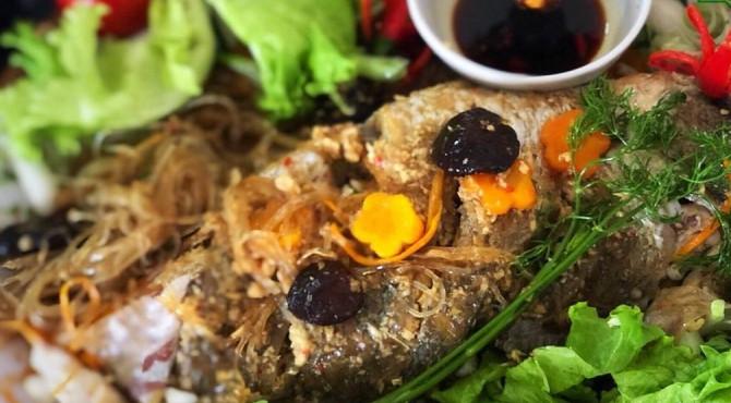 Canh cá ngần nấu chua