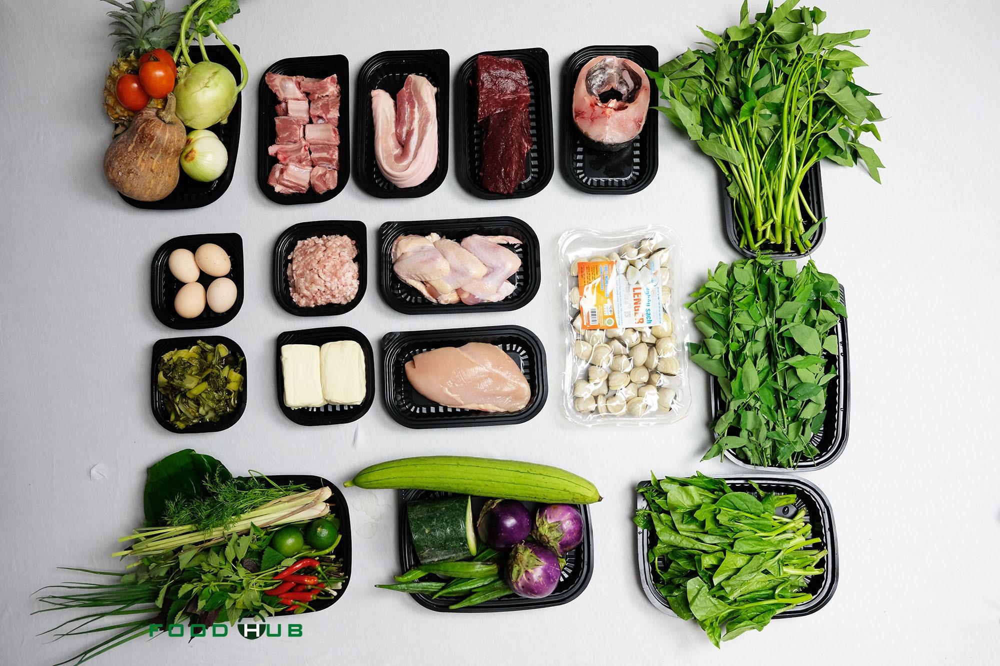 Combo thực phẩm 3 ngày ăn