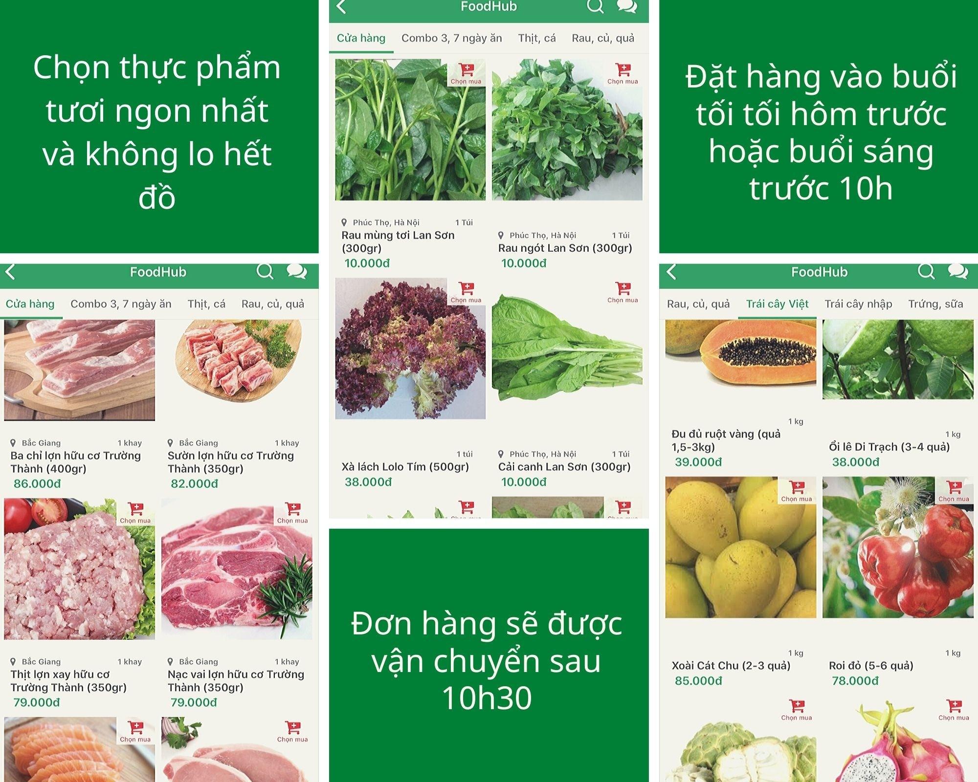 Thông điệp FoodHub